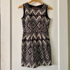 J. Crew Aztec Print Dress w/ Pockets
